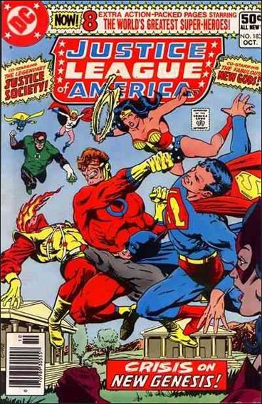 Justice League of America (1960) 183-A by DC