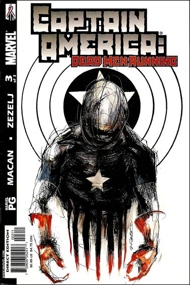 Captain America: Dead Men Running 3-A by Marvel