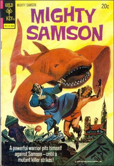 Mighty Samson (1964) 24-A by Gold Key