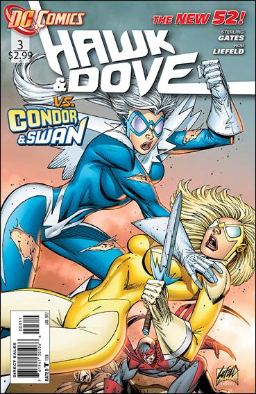Hawk and Dove (2011) 3-A by DC