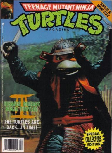 Teenage Mutant Ninja Turtles Magazine 11-B by Welsh Publishing Group