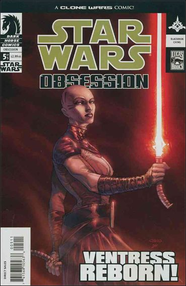 Star Wars: Obsession 5-A by Dark Horse