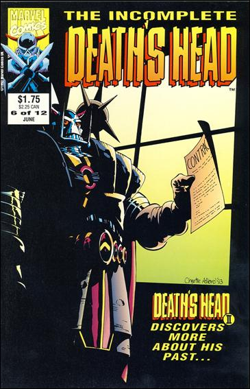 Incomplete Death's Head (UK) 6-A by Marvel UK