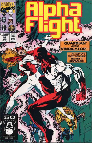 Alpha Flight (1983) 92-A by Marvel