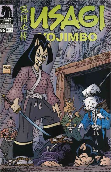 Usagi Yojimbo (1996) 86-A by Dark Horse
