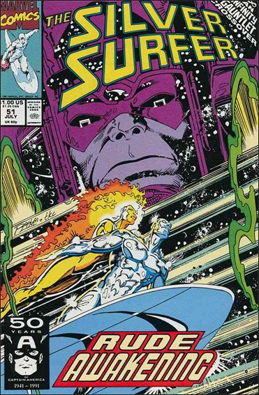 Silver Surfer (1987) 51-A by Marvel