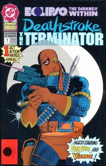 Deathstroke, the Terminator Annual 1-A by DC