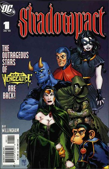 Shadowpact 1-A by DC