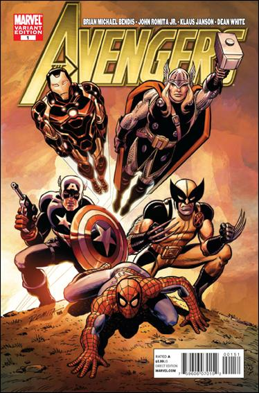 Avengers (2010) 1-E by Marvel