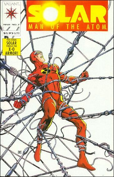Solar, Man of the Atom (1991) 7-A by Valiant