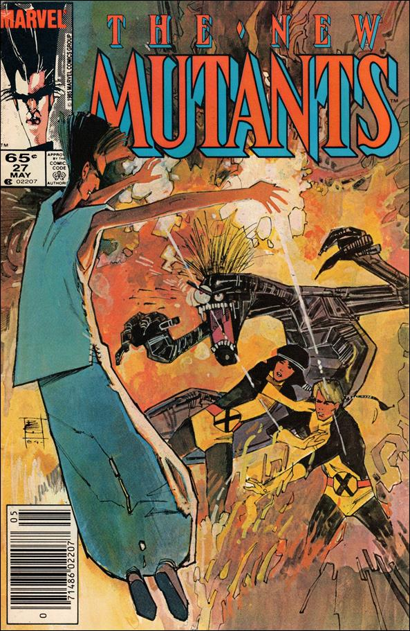 New Mutants (1983) 27-A by Marvel
