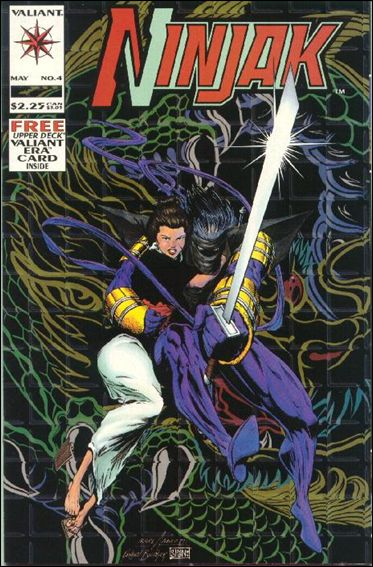 Ninjak (1994) 4-A by Valiant