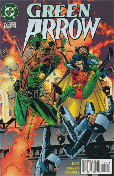 Green Arrow (1988) 105-A by DC