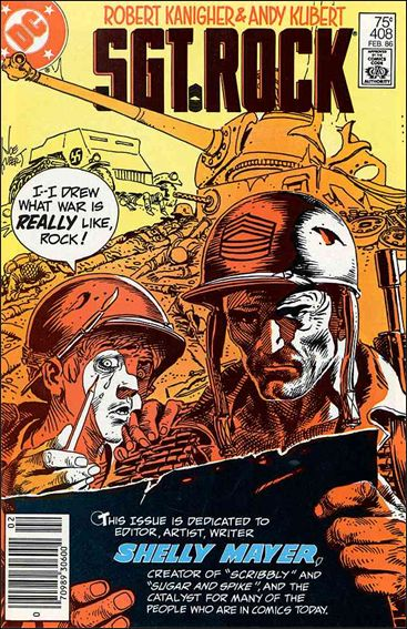 Sgt. Rock (1977) 408-A by DC