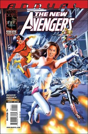 New Avengers Annual (2006) 3-A