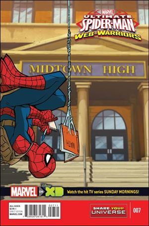 Marvel Universe Ultimate Spider-Man: Web Warriors 7-A