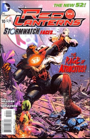 Red Lanterns 10-A by DC
