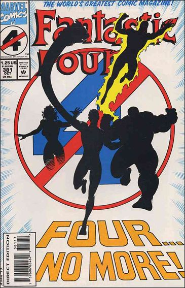 Fantastic Four (1961) 381-A by Marvel