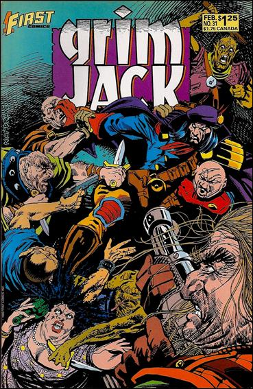 Grimjack 31-A by First