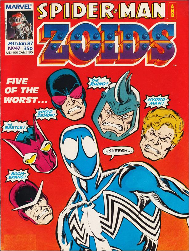 Spider-Man and Zoids (UK) 47-A by Marvel UK