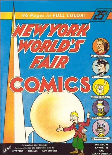 New York World's Fair Comics 1-A by DC