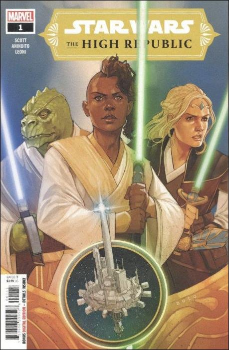Star Wars: The High Republic 1-A by Marvel