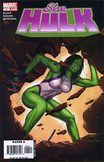 She-Hulk (2005) 4-A by Marvel