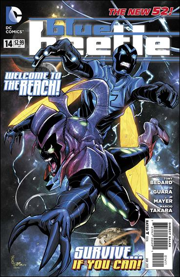 Blue Beetle (2011) 14-A by DC
