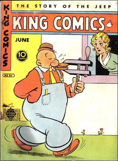 King Comics 86-A by David McKay