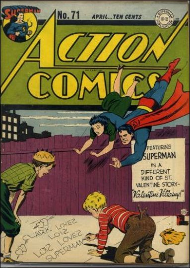 Action Comics (1938) 71-A by DC