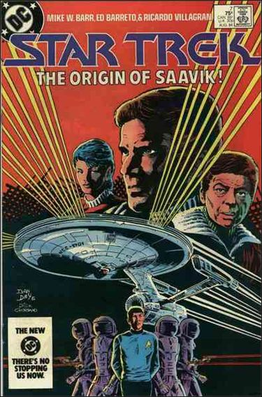 Star Trek (1984) 7-A by DC