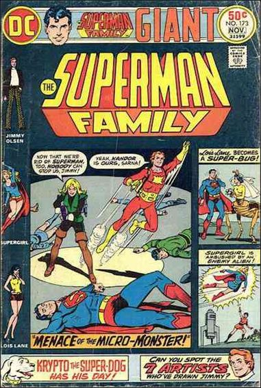 Superman Family 173-A by DC