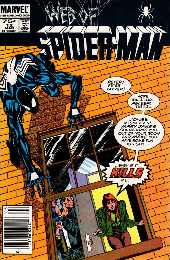 Web of Spider-Man (1985) 12-A by Marvel