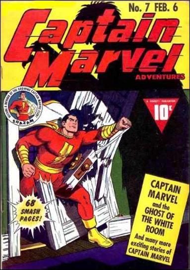 Captain Marvel Adventures 7-A by Fawcett