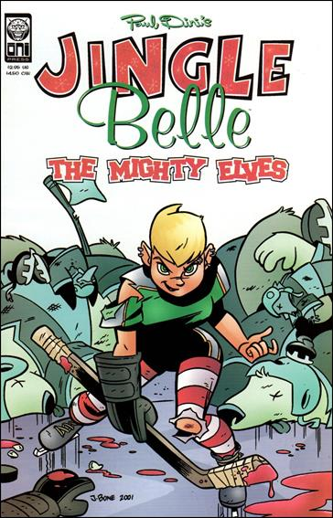 Paul Dini's Jingle Belle: The Mighty Elves nn-A by Oni Press