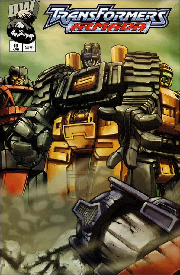 Transformers: Armada (2002) 10-A by Dreamwave