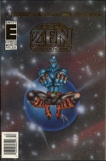 Zen Intergalactic Ninja (1993) 3-A by Entity