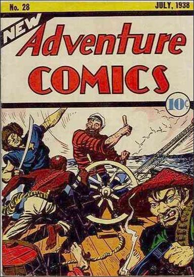 New Adventure Comics 28-A by DC