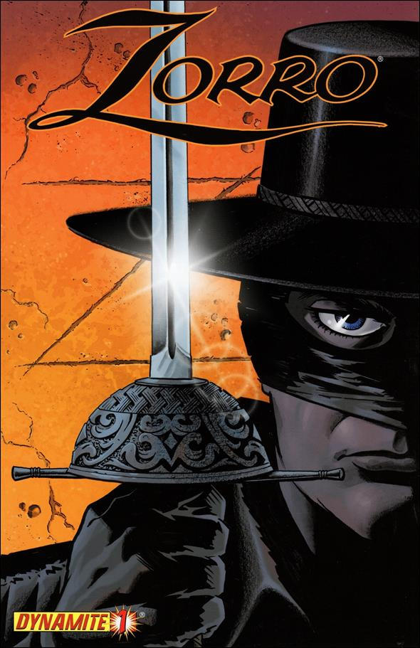 Zorro (2008) 1-A by Dynamite Entertainment