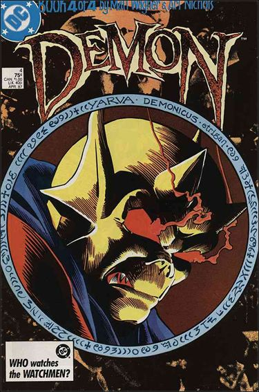 Demon (1987) 4-A by DC