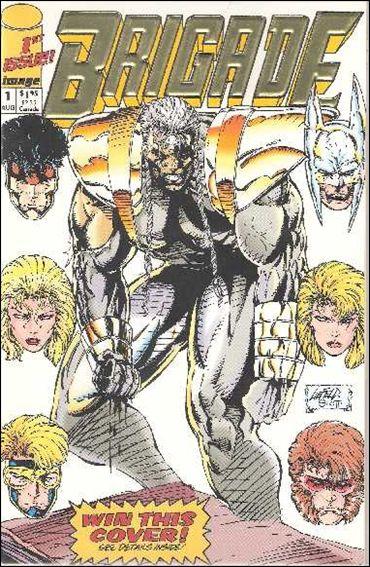 Brigade (1992) 1-B by Image