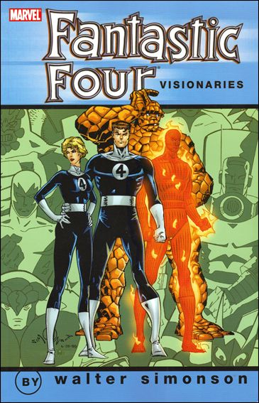 Fantastic Four Visionaries: Walt Simonson 1-A by Marvel