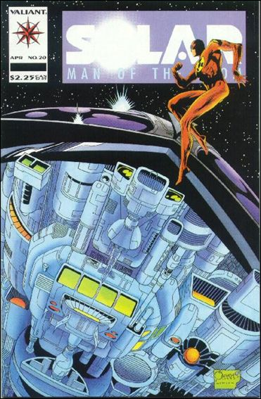 Solar, Man of the Atom (1991) 20-A by Valiant