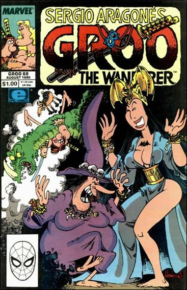 Sergio Aragones Groo the Wanderer 68-A by Epic