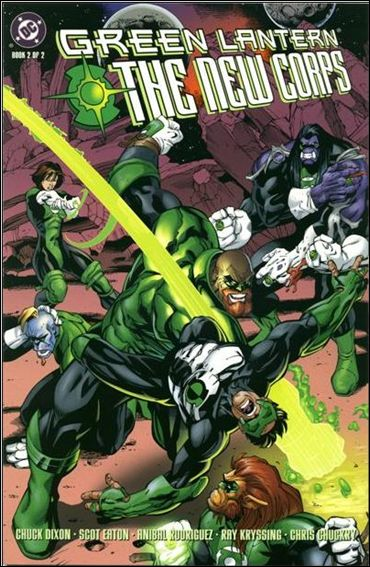 Green Lantern: The New Corps 2-A by DC
