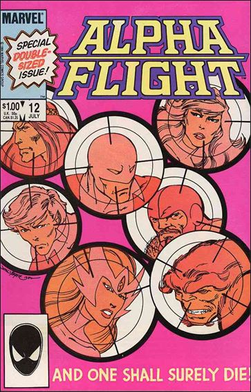 Alpha Flight (1983) 12-A by Marvel