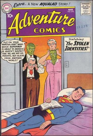 Adventure Comics (1938) 270-A by DC
