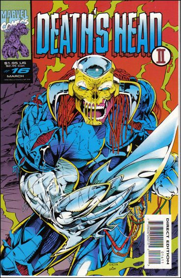 Death's Head II (UK) (1992/12) 16-A by Marvel UK