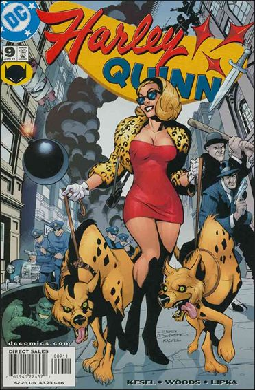 Harley Quinn 9-A by DC