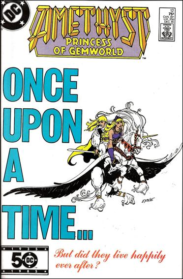 Amethyst, Princess of Gemworld (1985) 12-A by DC